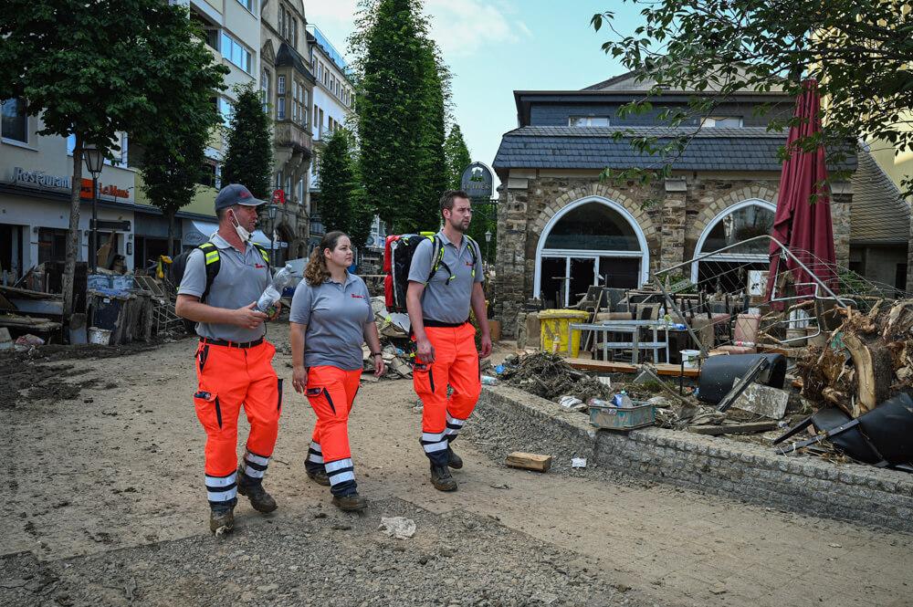 Wir Helfen- Hochwasser in Deutschland