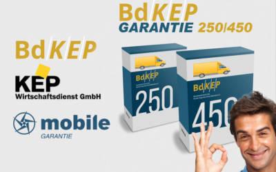 BdKEP und KEP Wirtschaftsdienst starten Neuwagen-Anschlussgarantie bis 450.000 km