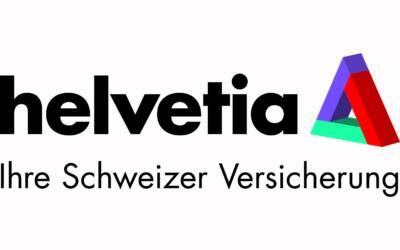 Wir freuen uns über die Weiterentwicklung mit Helvetia