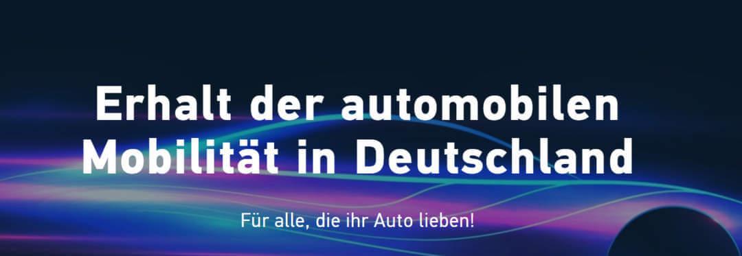 Kampagensologen der Mobil in Deutschland e.V. : Erhalt der automobilen Mobilität in Deutschland