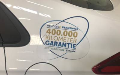 Taxi Garantie bis 400.000 km
