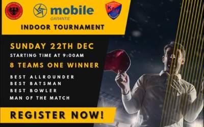 Turnier des Deutschen Cricket Meisters am 22. Dezember 2019  in Hamburg