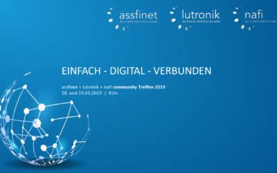 assfinet + lutronik + nafi community Treffen 2019