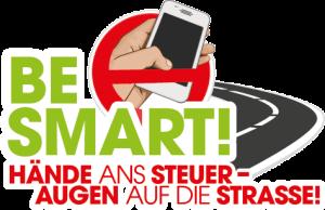 """Verkehrskampagne """"Hände ans Steuer – Augen auf die Straße"""""""